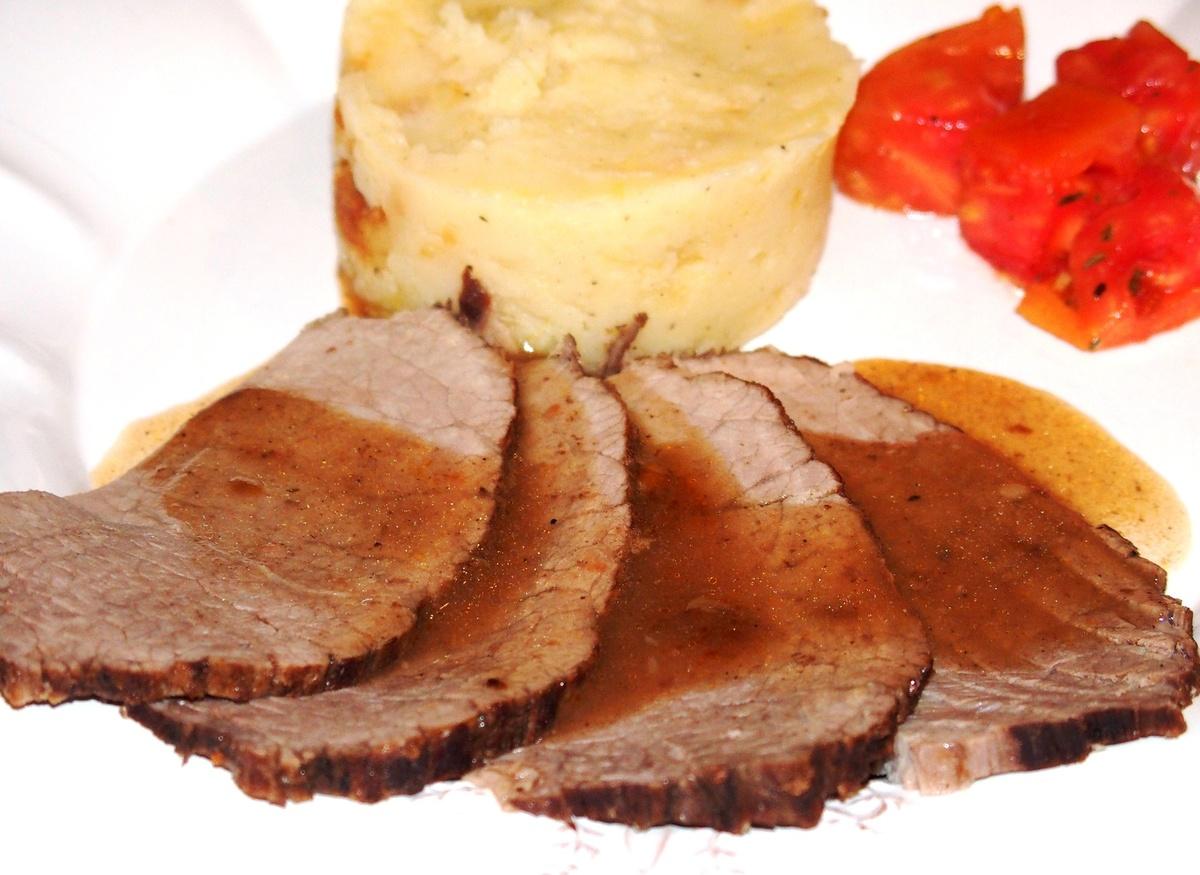 Comment faire un roti de boeuf - Cuisiner le paleron de boeuf ...