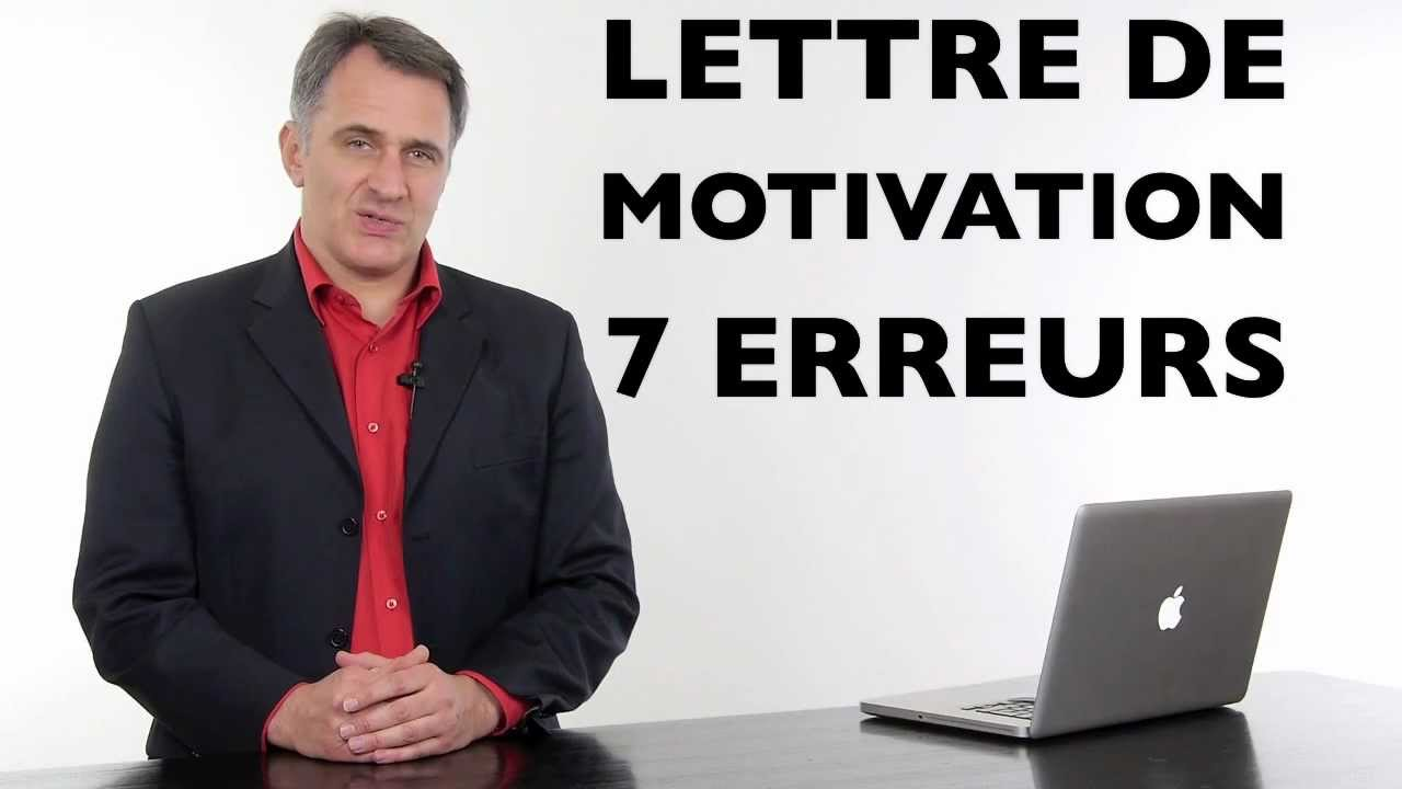 Comment faire une lettre de motivation