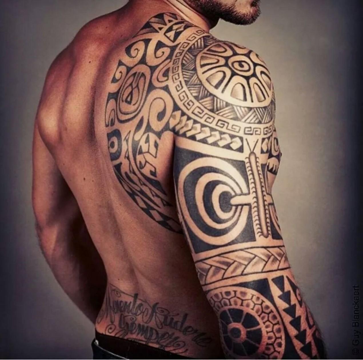 Tatouage Dos Homme Je Demande L Avis Des Pros